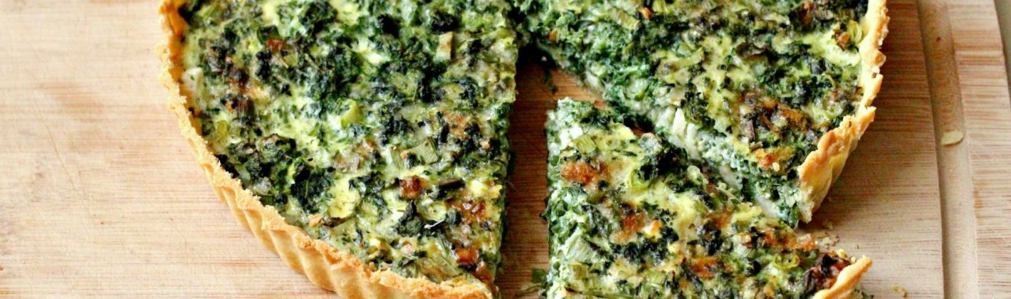 Ricetta torta salata di ricotta e cavolo nero