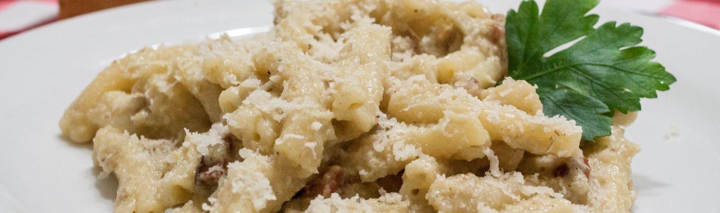 Ricetta pasta con carciofi e pancetta