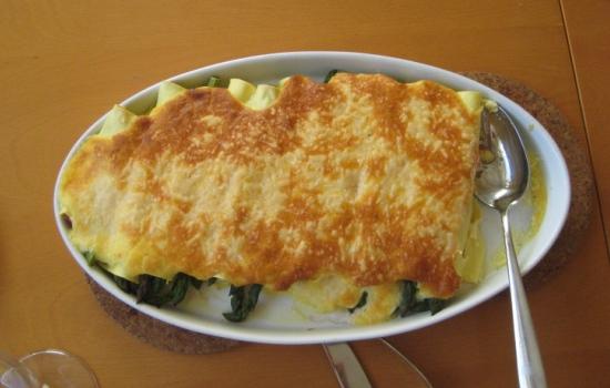 Cannelloni al salmone  microonde