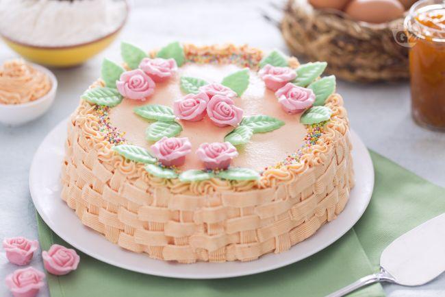 Ricetta torta cestino