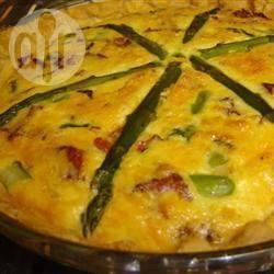Torta salata agli asparagi e ricotta