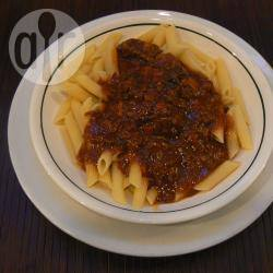 Penne al ragù di filetto