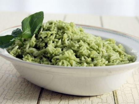 Ricetta riso freddo con salsa verde