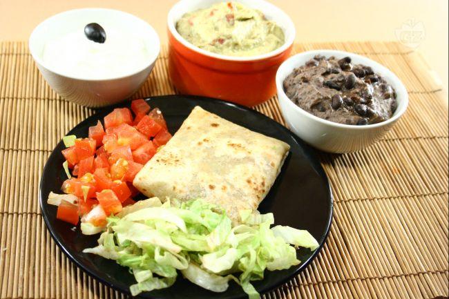 Ricetta burritos con verdure