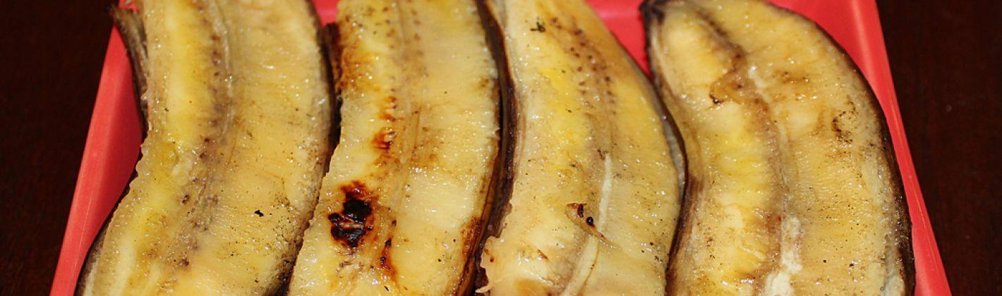 Ricetta banane grigliate