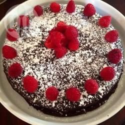 Torta al cioccolato senza glutine con quinoa