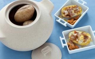 Ricetta uovo in cocotte di patate con finferli, parmigiano reggiano e ...