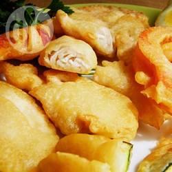 Pollo e verdure in pastella senza glutine