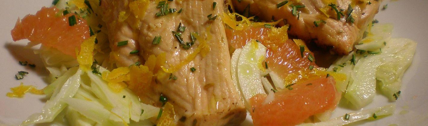Ricetta triglie all'arancia