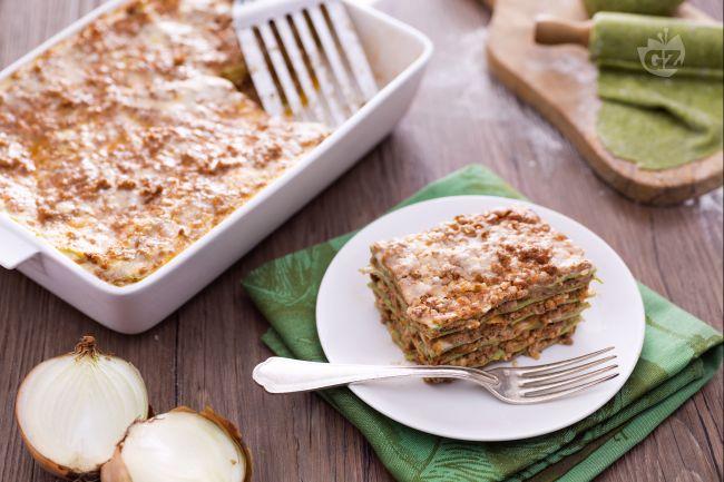 Ricetta lasagne verdi con ragu alla bolognese