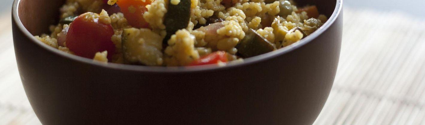 Ricetta cous cous con lenticchie e verdure