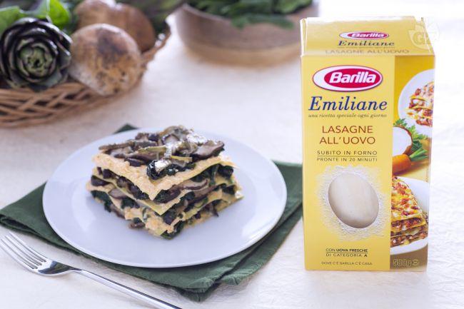 Ricetta lasagne ai 5 ortaggi