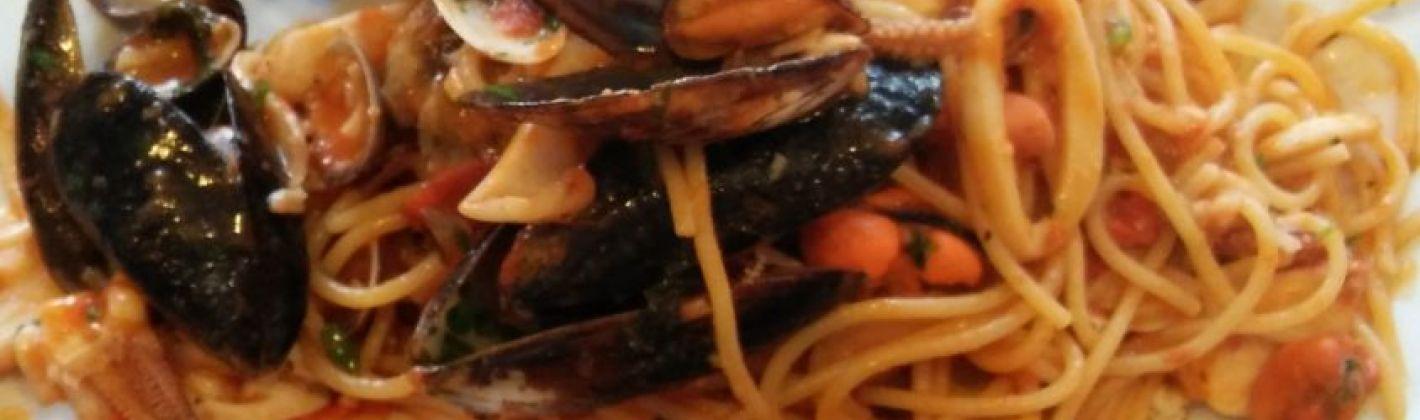 Ricetta spaghetti allo scoglio al cartoccio