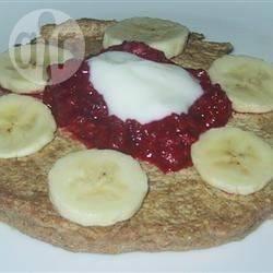 Pancake di farina integrale e quinoa