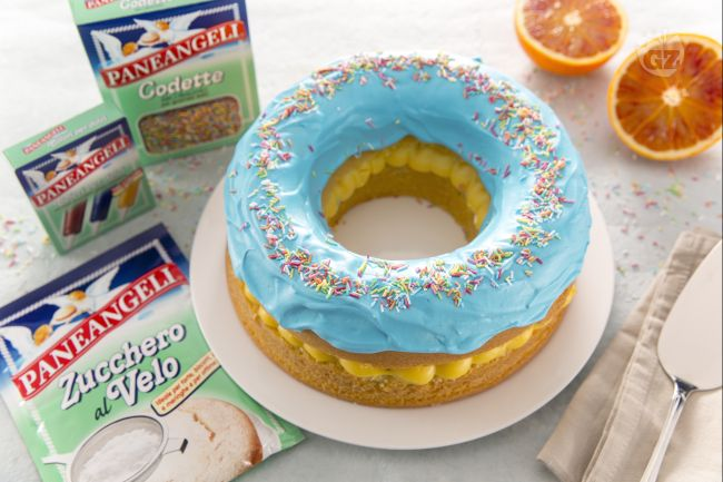 Ricetta torta donuts