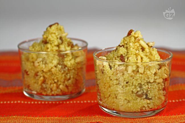 Ricetta cous cous con frutta secca e miele