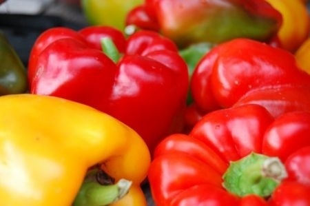 Ricetta insalata peperoni, pane e tonno
