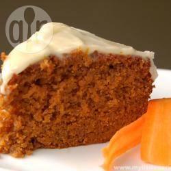 Torta di carote speziata