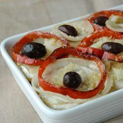Baccalà al latte con patate alla portoghese