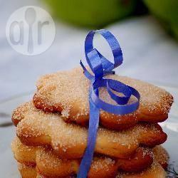 Biscotti di zucchero a forma di fiori