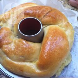 Pan brioche con prosciutto e scamorza