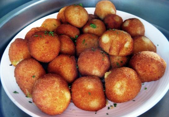 Palline di patate filanti