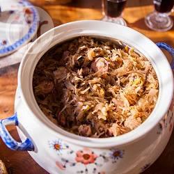 Bigos (spezzatino polacco di carne e crauti)