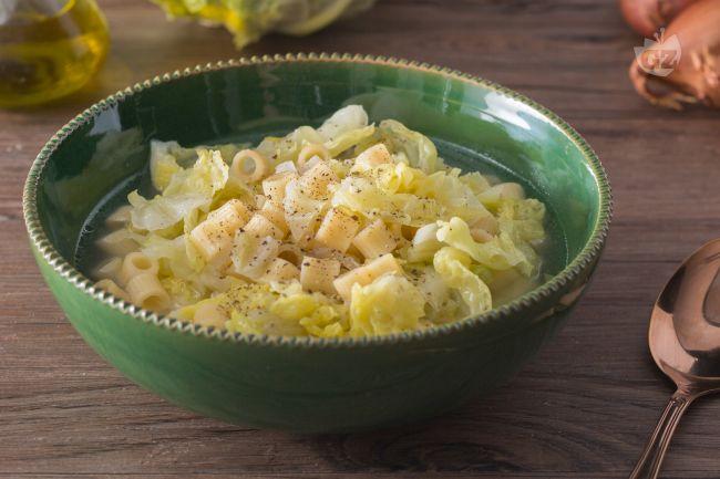 Ricetta minestra di verza