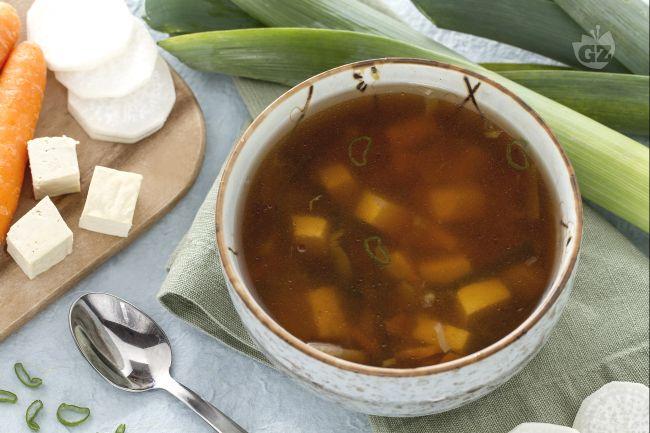 Ricetta zuppa di miso