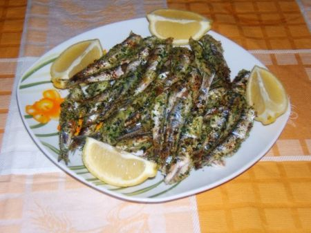 Ricetta sardoncini scottadito