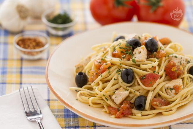 Ricetta pasta con pesce spada