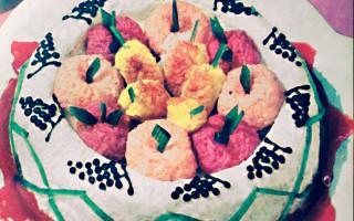 Ricetta turbante di riso alla frutta