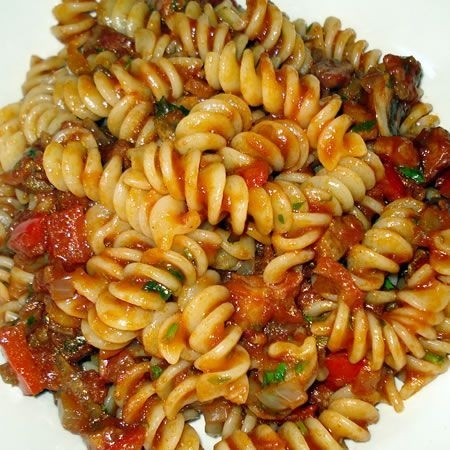 Ricetta pasta al sugo di ortaggi
