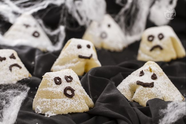Ricetta fantasmini di halloween