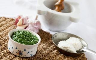 Ricetta pesto di spinaci