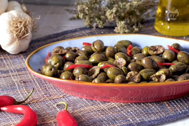 Ricetta olive schiacciate