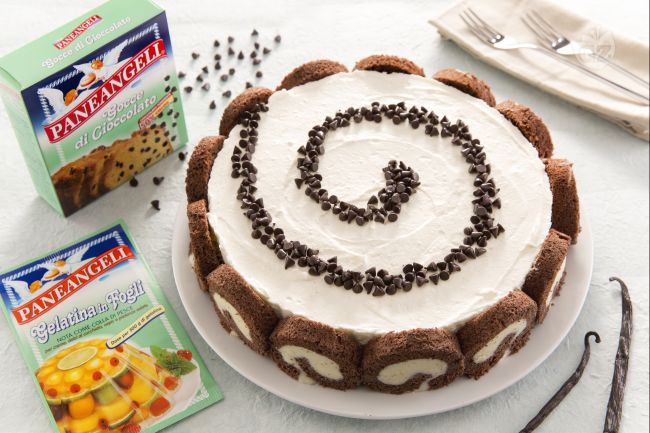 Ricetta cheesecake swiss roll