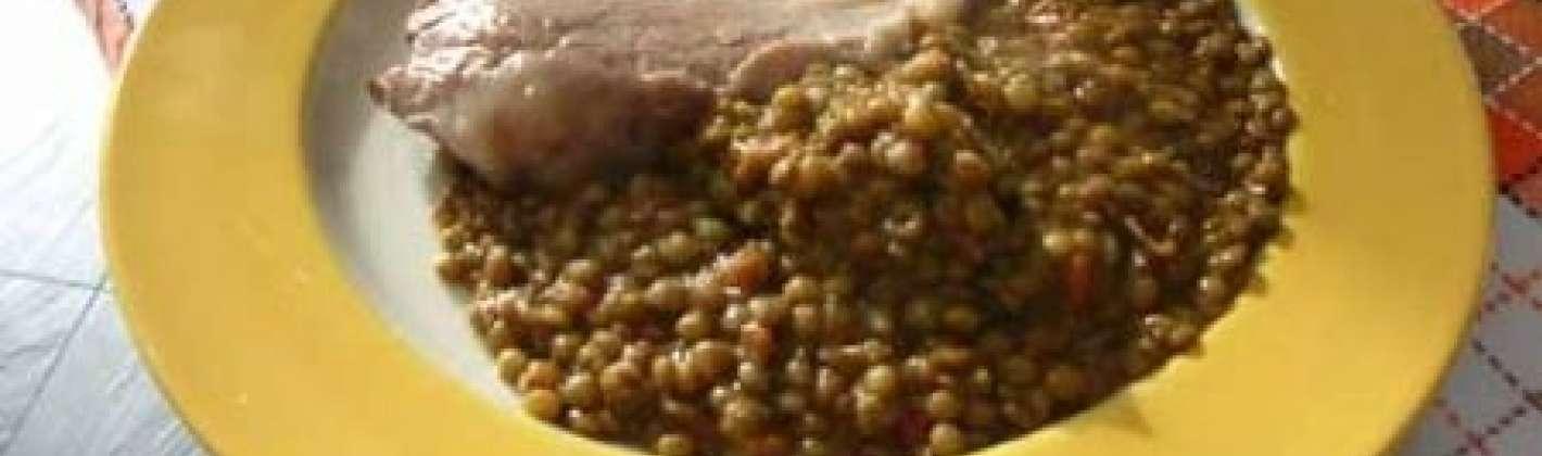 Ricetta lenticchie light