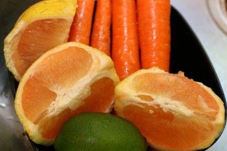Ricetta insalata di carote e pompelmo rosa