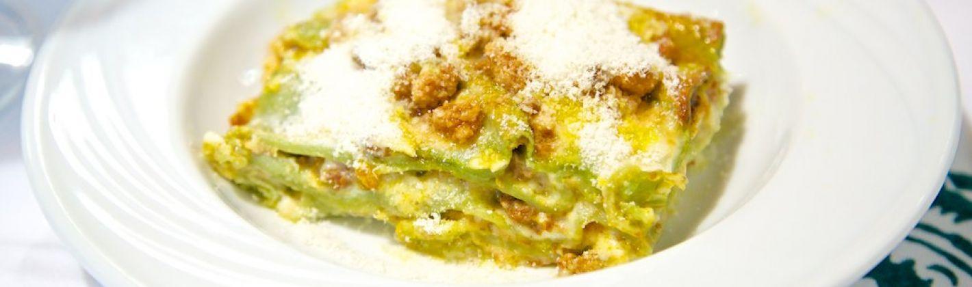 Ricetta lasagne verdi ai formaggi