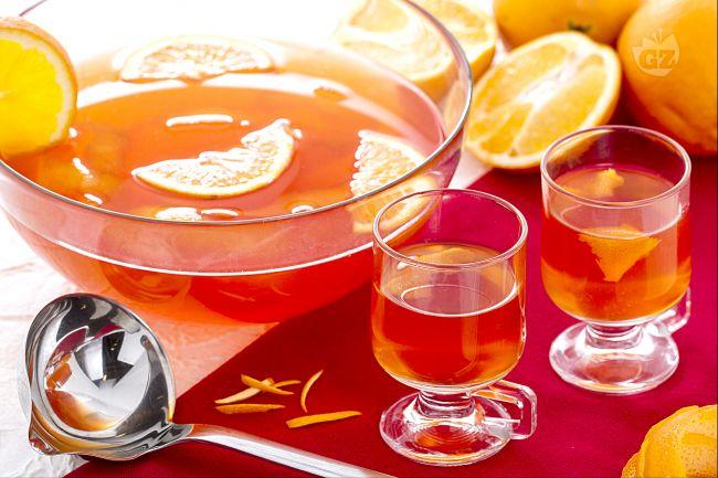 Ricetta punch all'arancia