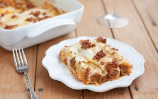 Ricetta cannelloni di crespelle al ragù alla bolognese