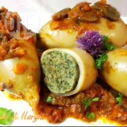 Calamari ripieni di spinaci