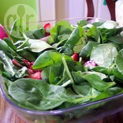 Insalata di fragole e spinaci