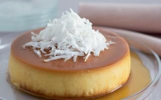 Ricetta crème caramel al cocco