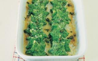 Ricetta stelle di semolino e spinaci