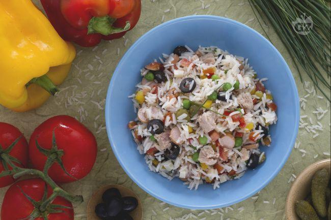 Ricetta insalata di riso classica