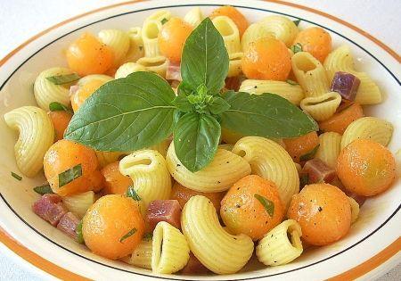 Ricetta pasta fredda con prosciutto crudo di parma e melone ...