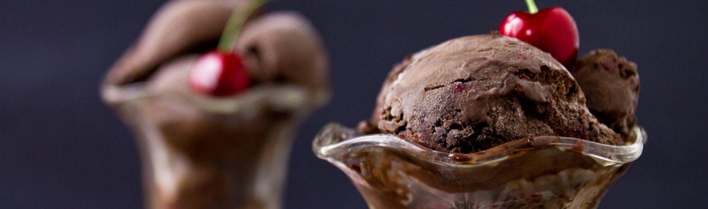 Ricetta gelato al cioccolato fondente