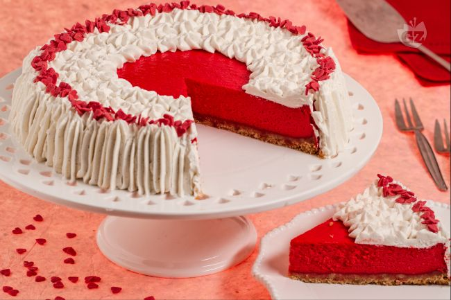 Ricetta red velvet cheesecake